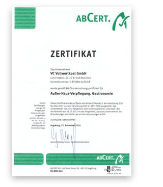 bio-zertifikat